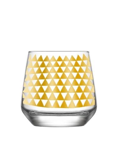 Gold Trıangles Tasarım Bardak-Rakle